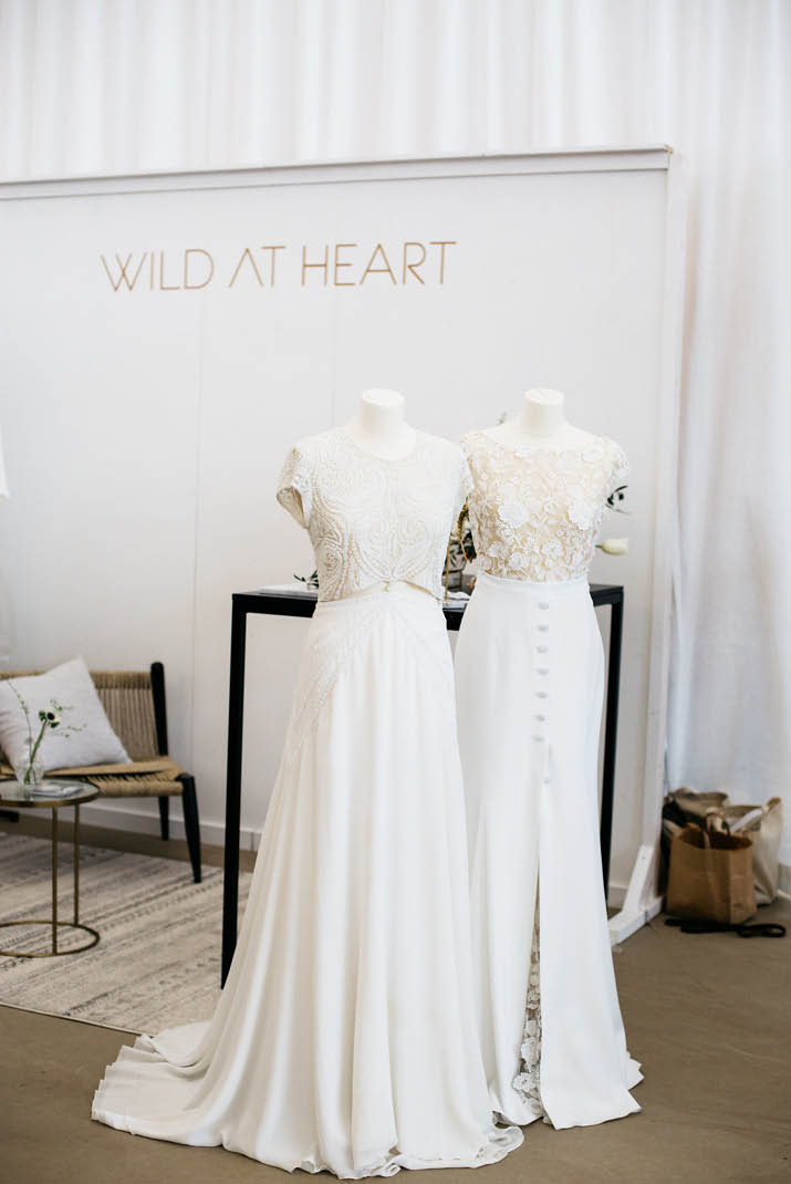 Wild At Heart Bridal // Engaged via engaged.nl // Leonne Photography