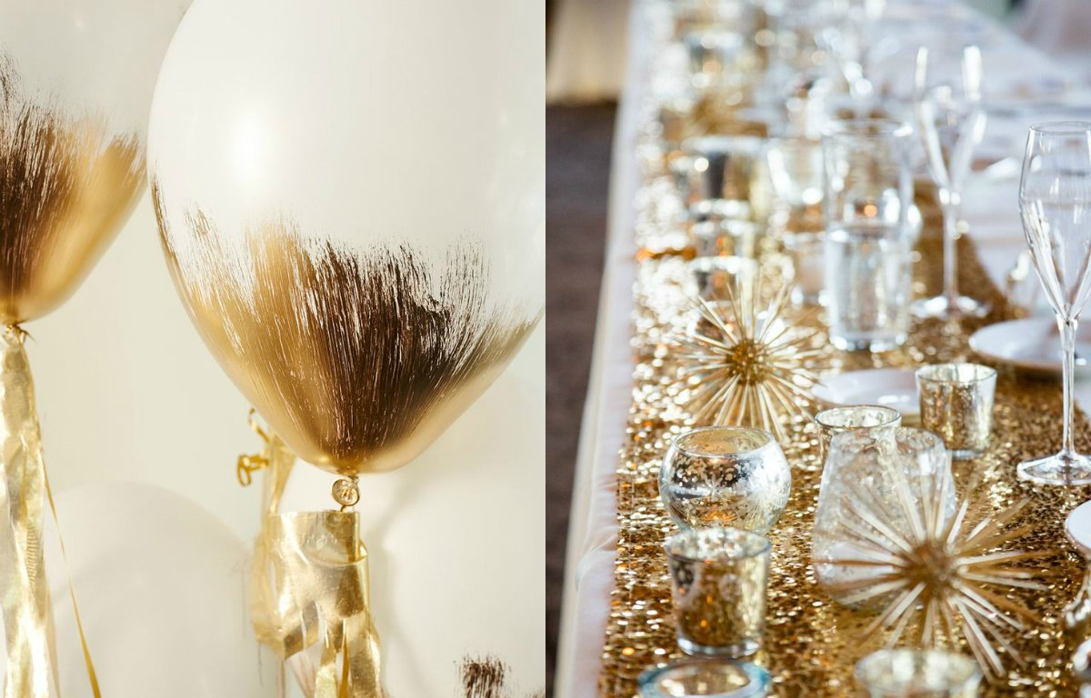 New Year's Eve Wedding Decor Inspiration // Pottery Barn Kids // The After Party NV // Engaged.nl