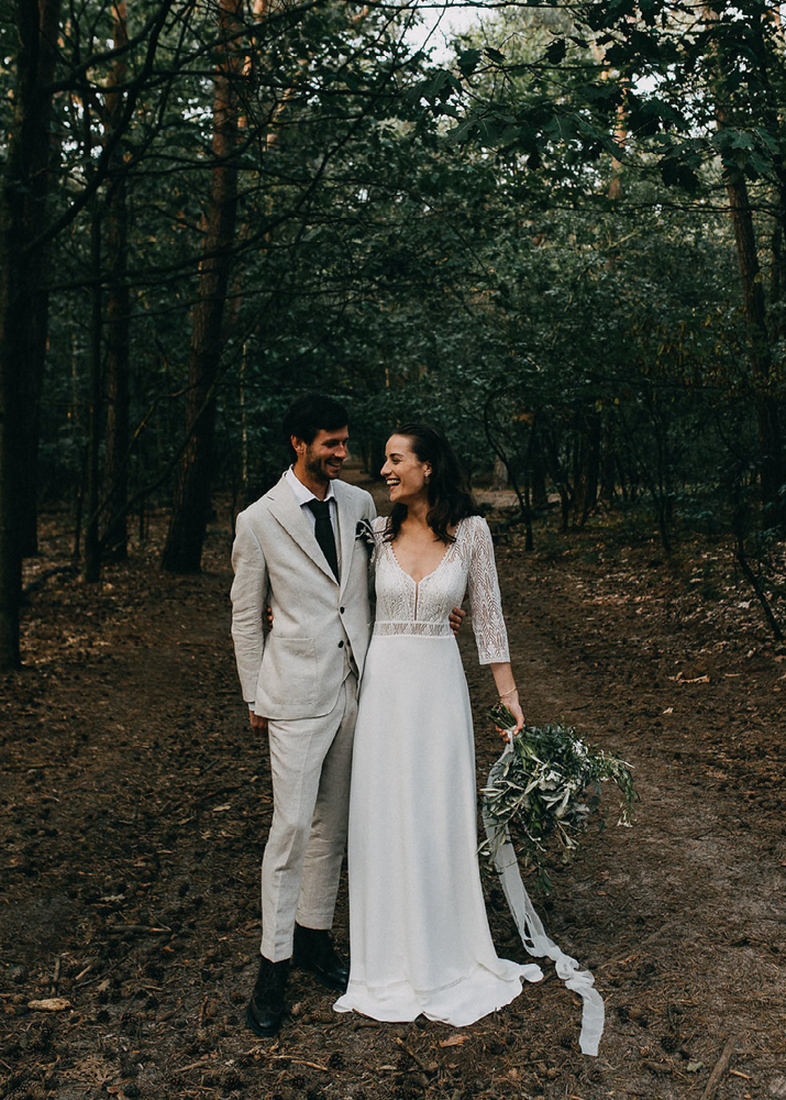 Engaged Een Glamourous En Sophisticated Bridal Look