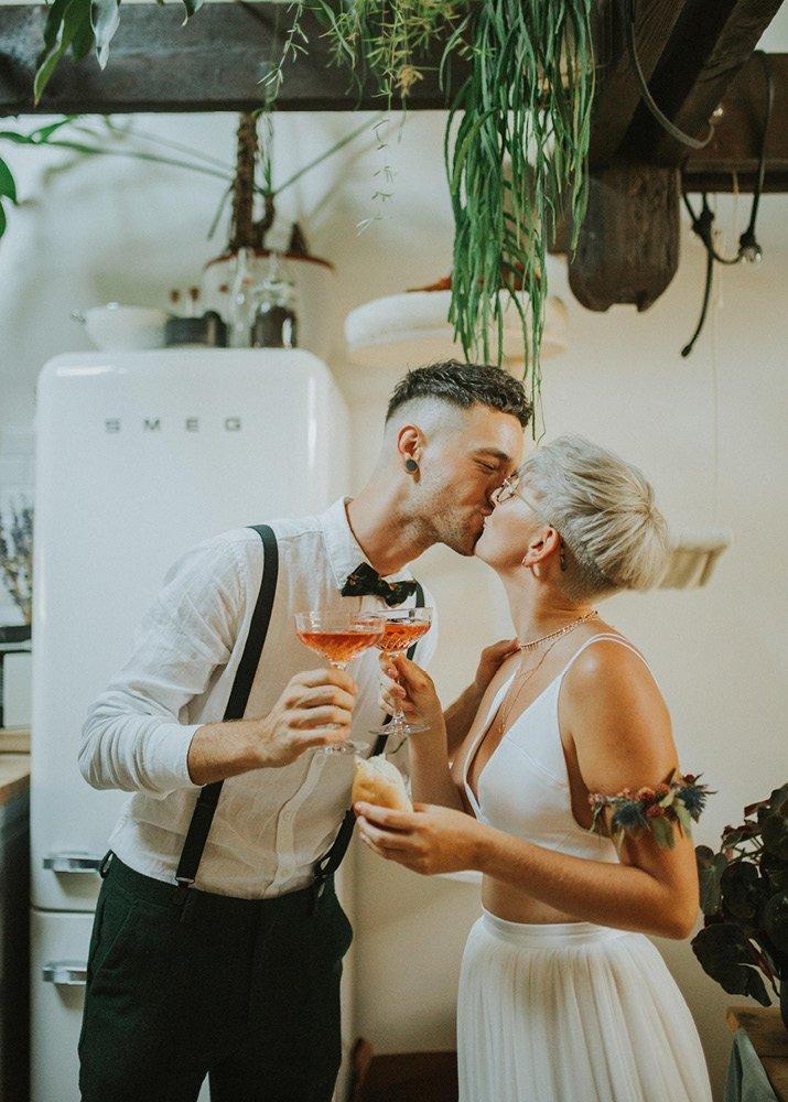 De vintage boho wedding van Nick en Lieselot